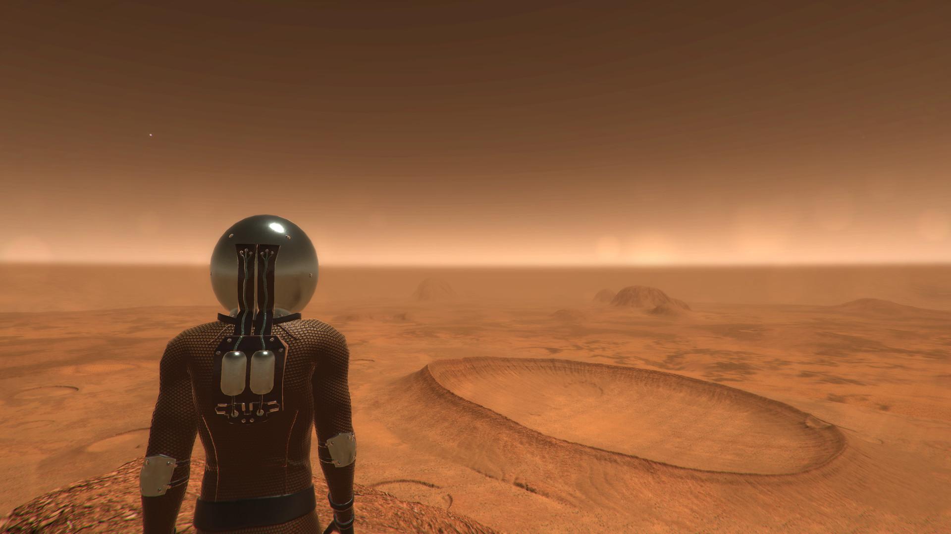 Martian Environment