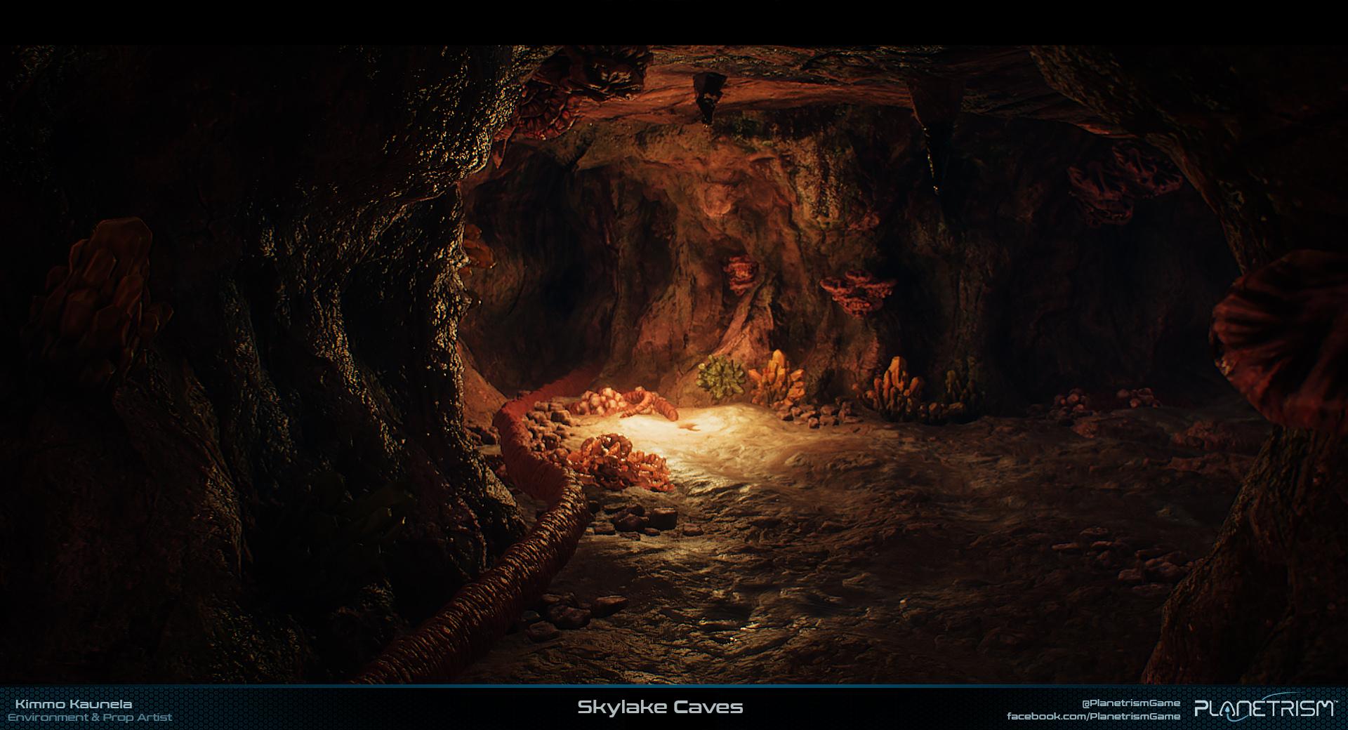 Planetrism - Caves