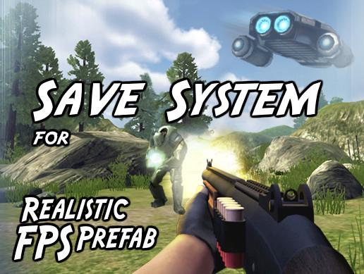 Save System for Realistic FPS Prefab