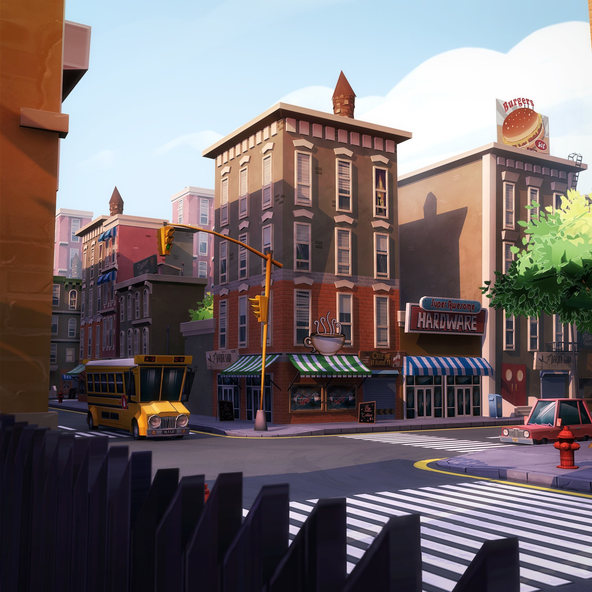 Urban Toon Neighborhood