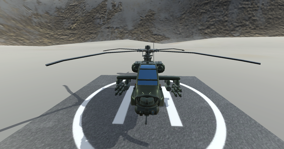 Helicopter Model And Control Script