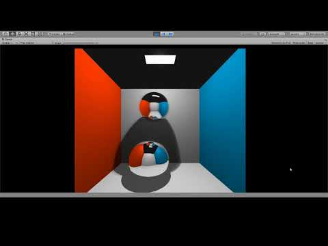 Realtime Raytracing using the Scriptable Render Pipeline (SRP)