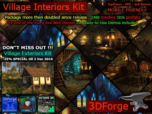Village Interiors Kit