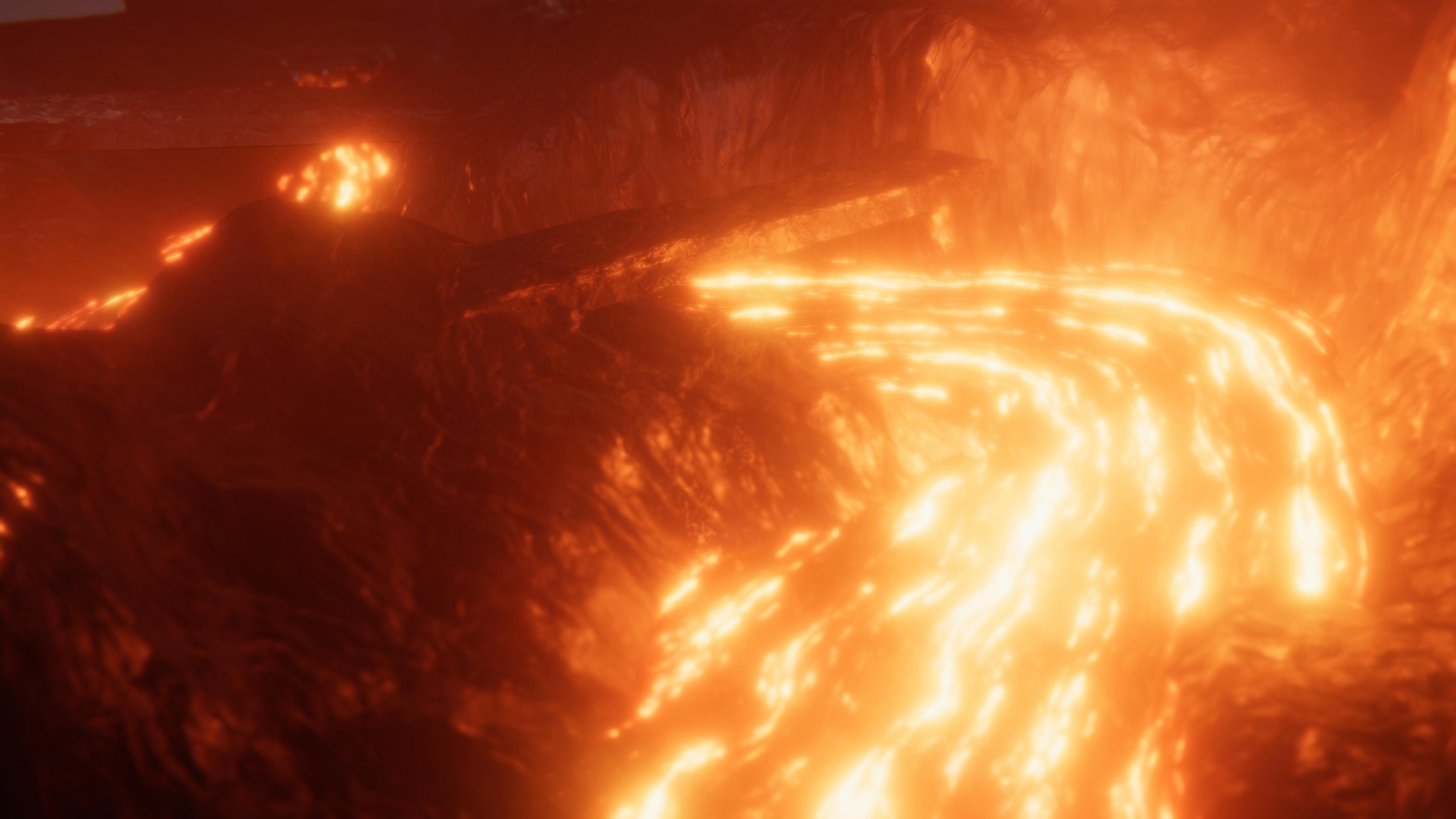 Volcanic Bedrock