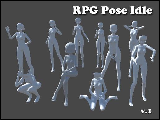 RPG Pose idle v.1