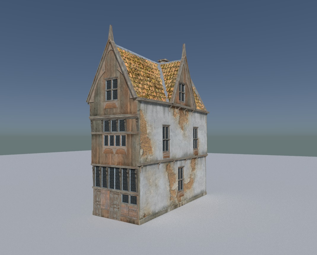 Update to Medieval Muilding