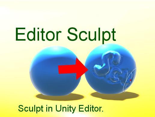 Editor Sculpt