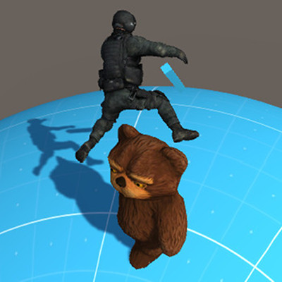 3Dキャラゲーム(仮)