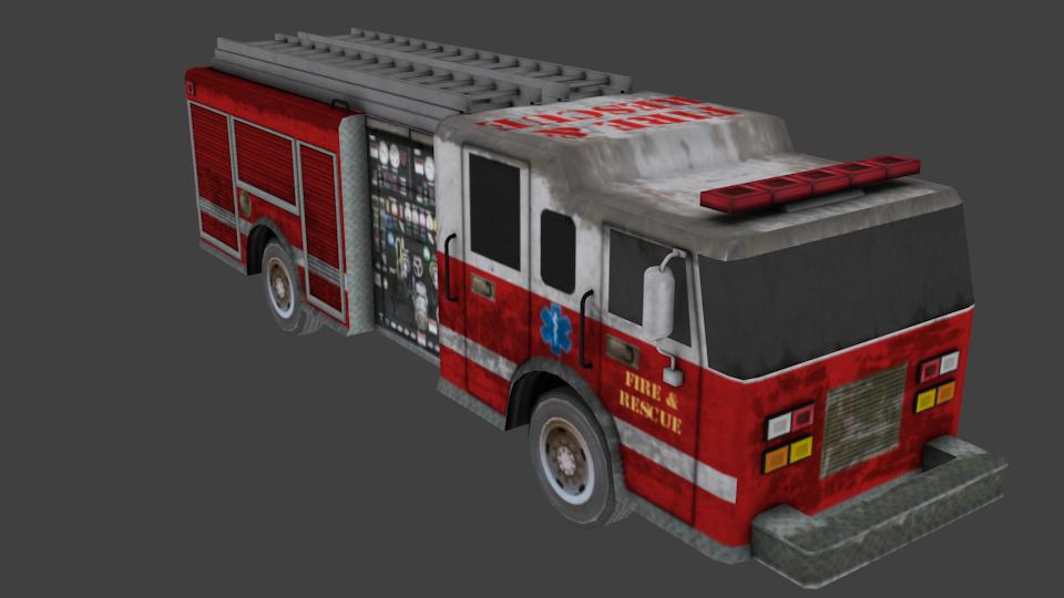 Firetruck Asset