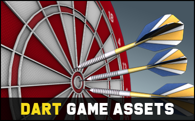 Dart Game Assets 3D Pack
