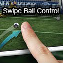 2D and 3D Swipe Ball Control