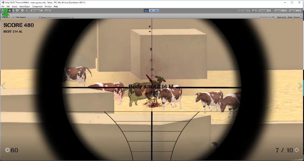 Sniper those Cows