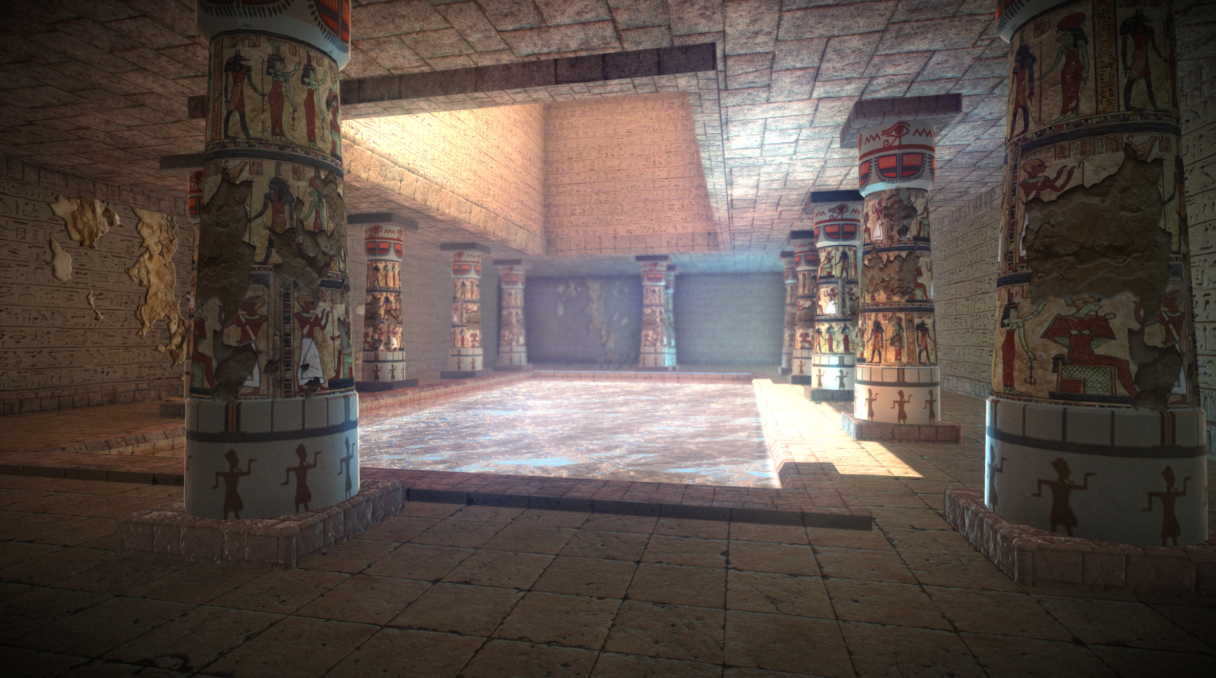 Egyptian dungeon