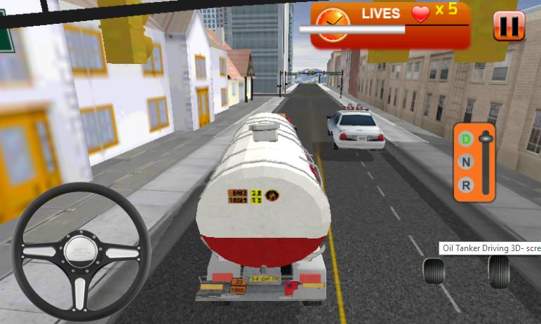 Oil Tanker Drive 3D