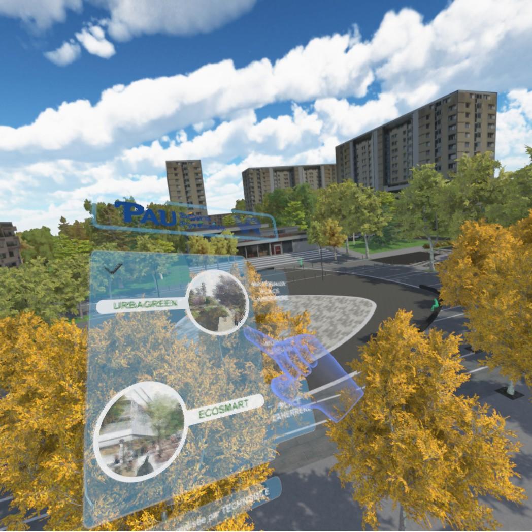 Pau - Saragosse / Smart City VR