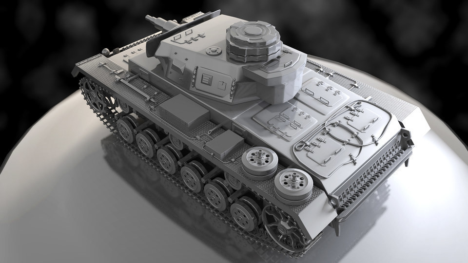 Hard Surface Tank