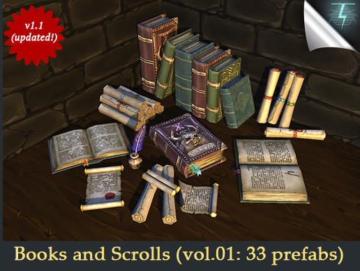 Books and Scrolls - vol.01