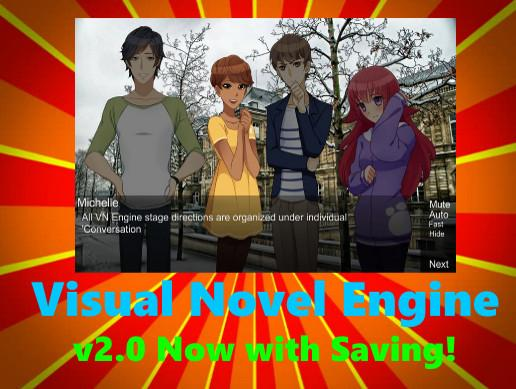 Visual Novel Engine/2D Cutscene Engine