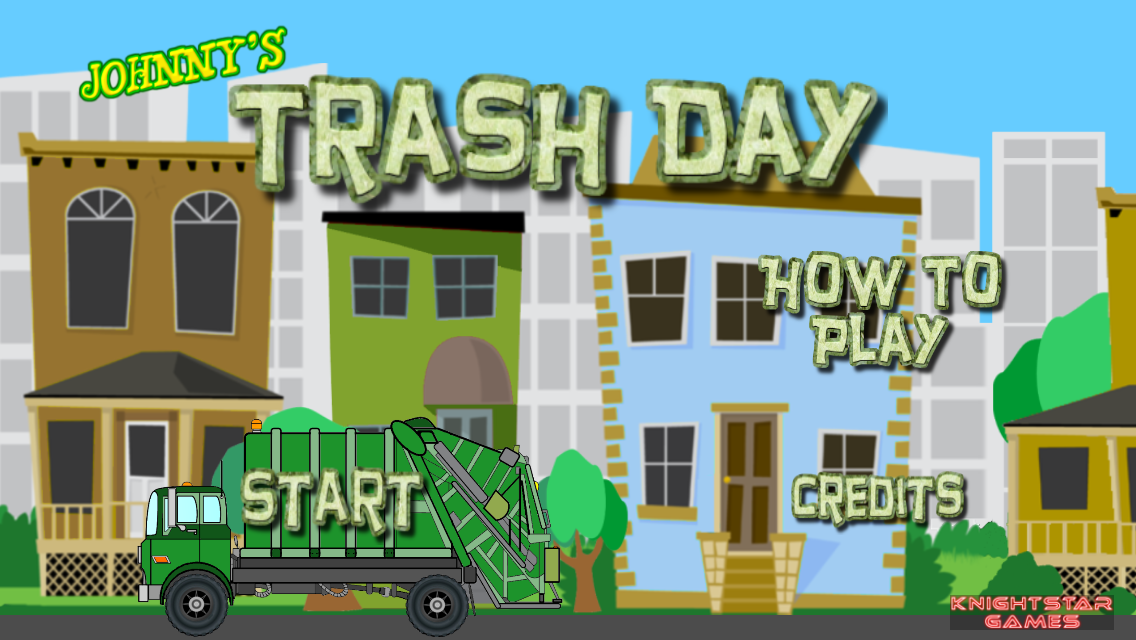 Johnny's Trash Day