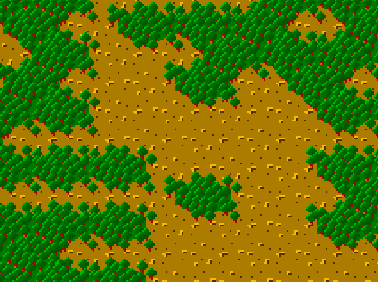 Tilemaps: 2-color Hexagonal tiles