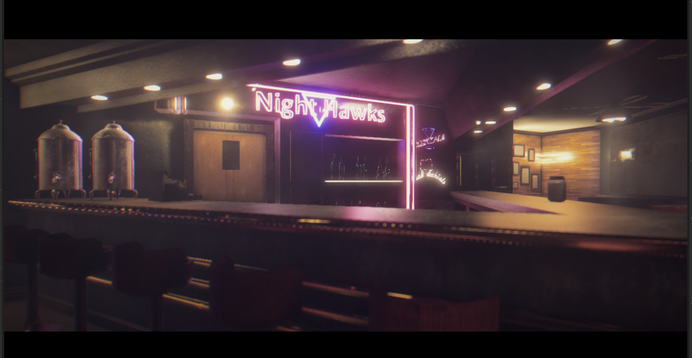 Private Eye VR Nighthawks Diner