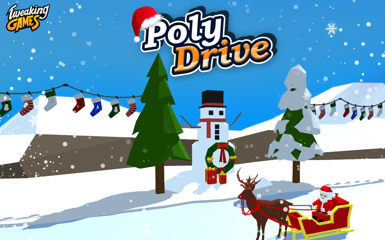 Poly Drive - Endless Power Attack
