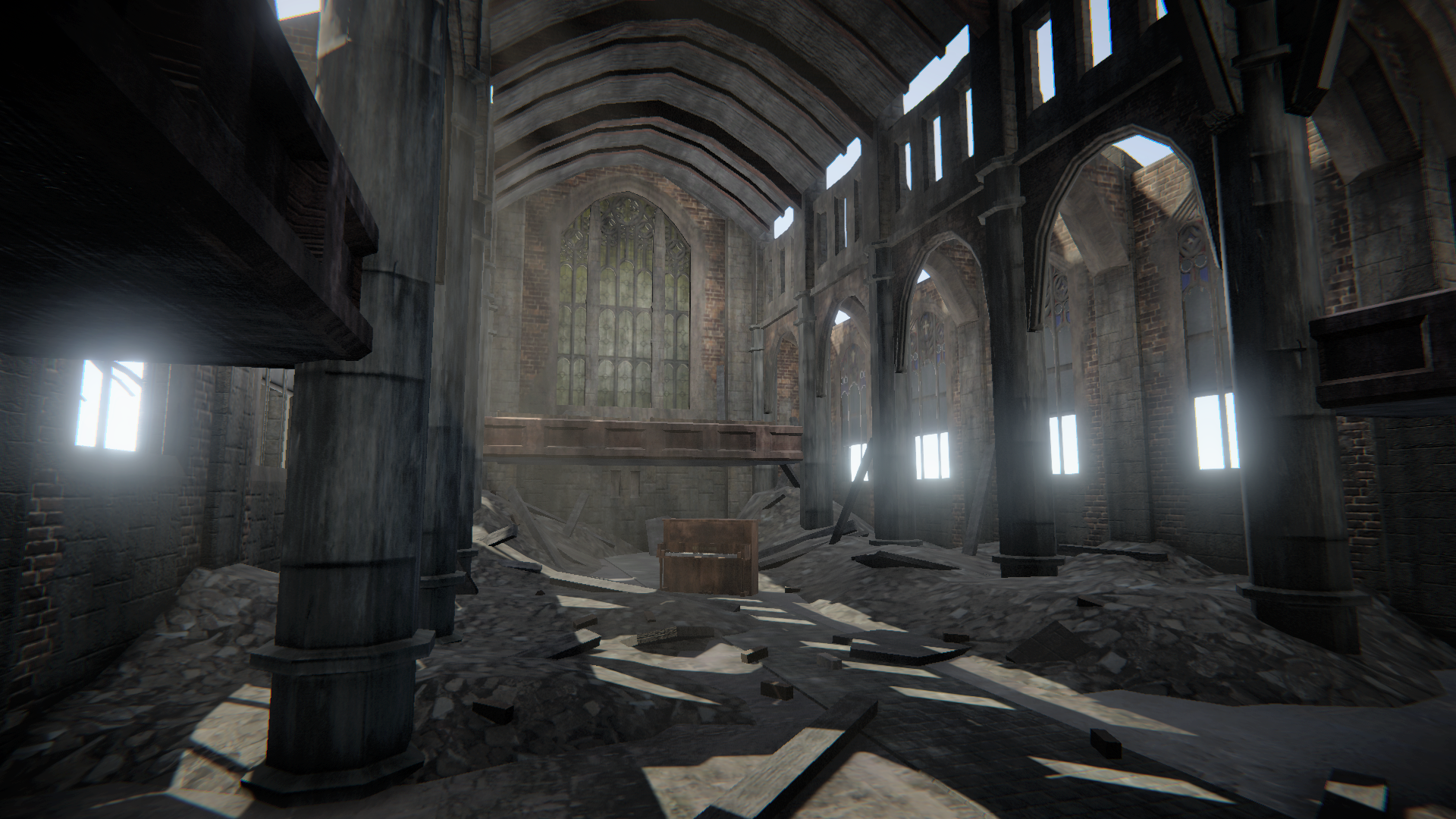 Abandoned Hope Cathedral