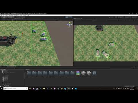 Unity RTS drag selection mechanic