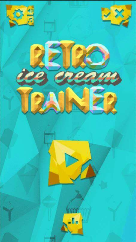 Retro ice-cream Trainer