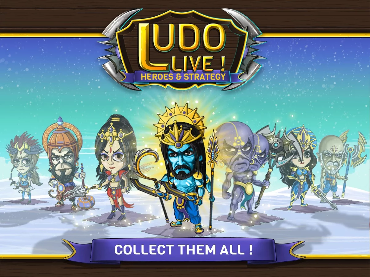 Ludo Live! Heroes & Strategy
