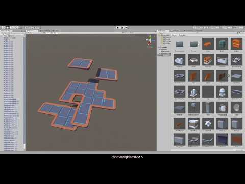 LowPoly Level Creator - SciFi