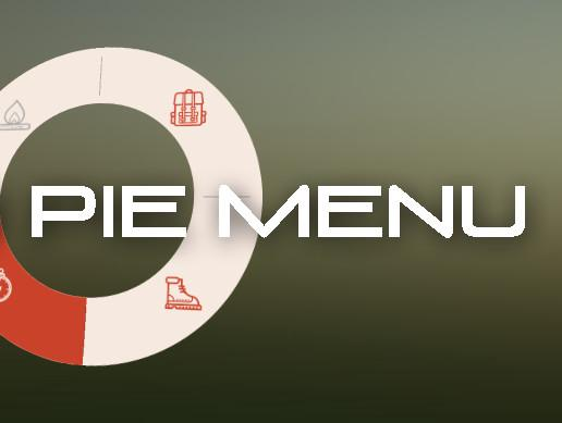 Tasty pie menu