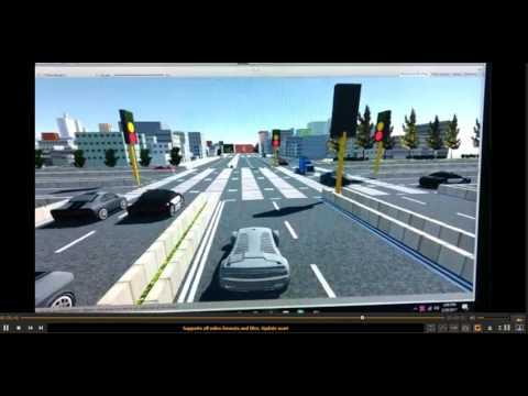 Car AI and Traffic Light AI