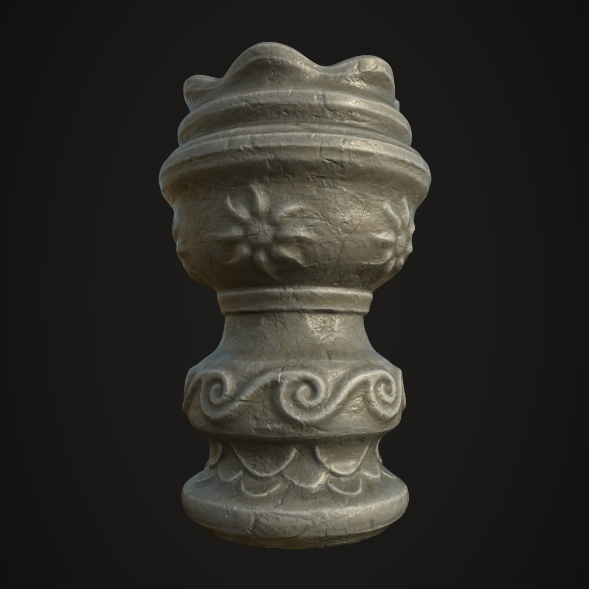 Stylized Ancient Vase