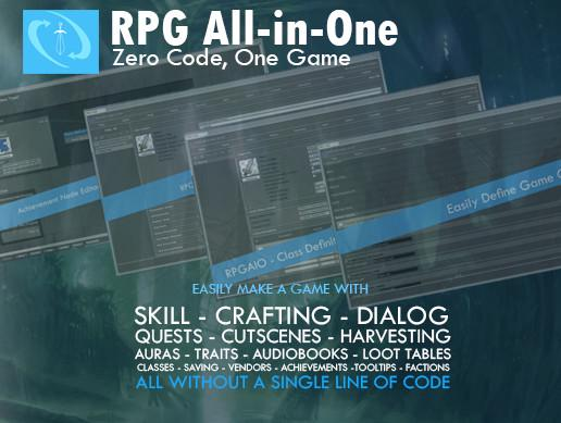 RPG All-in-One Framework/Toolkit
