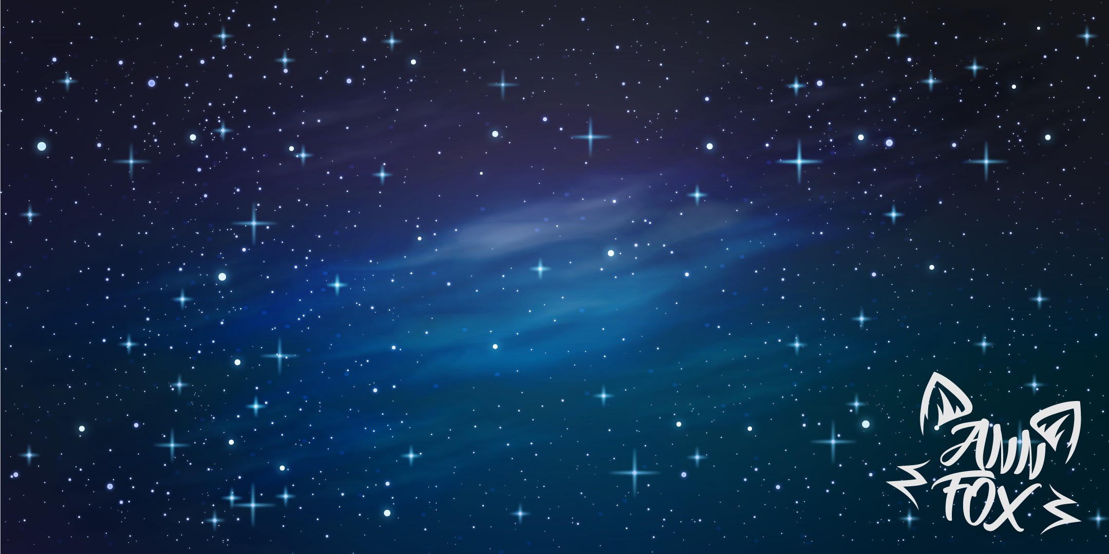 Starry sky background