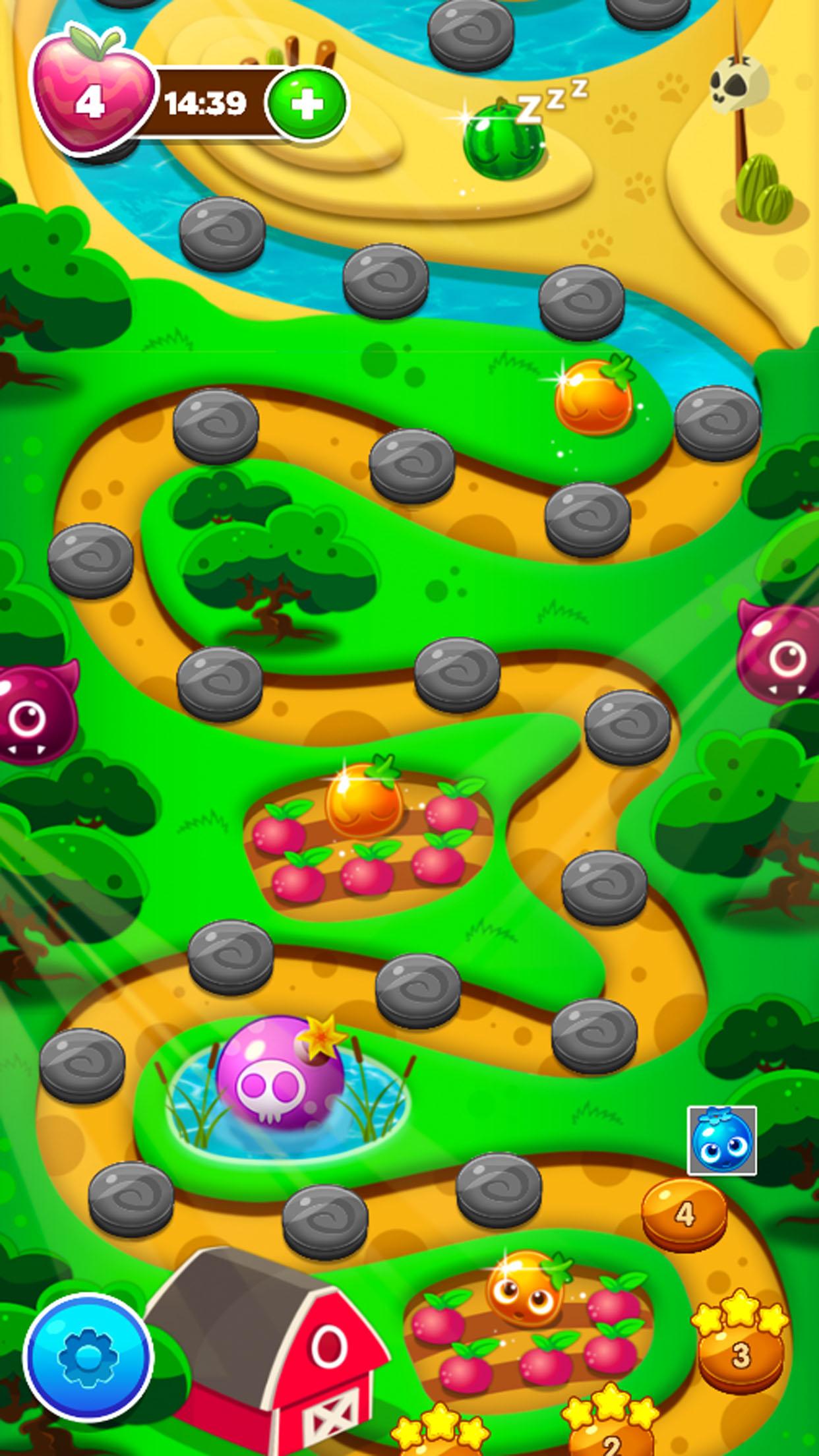 Juice Fruit Island