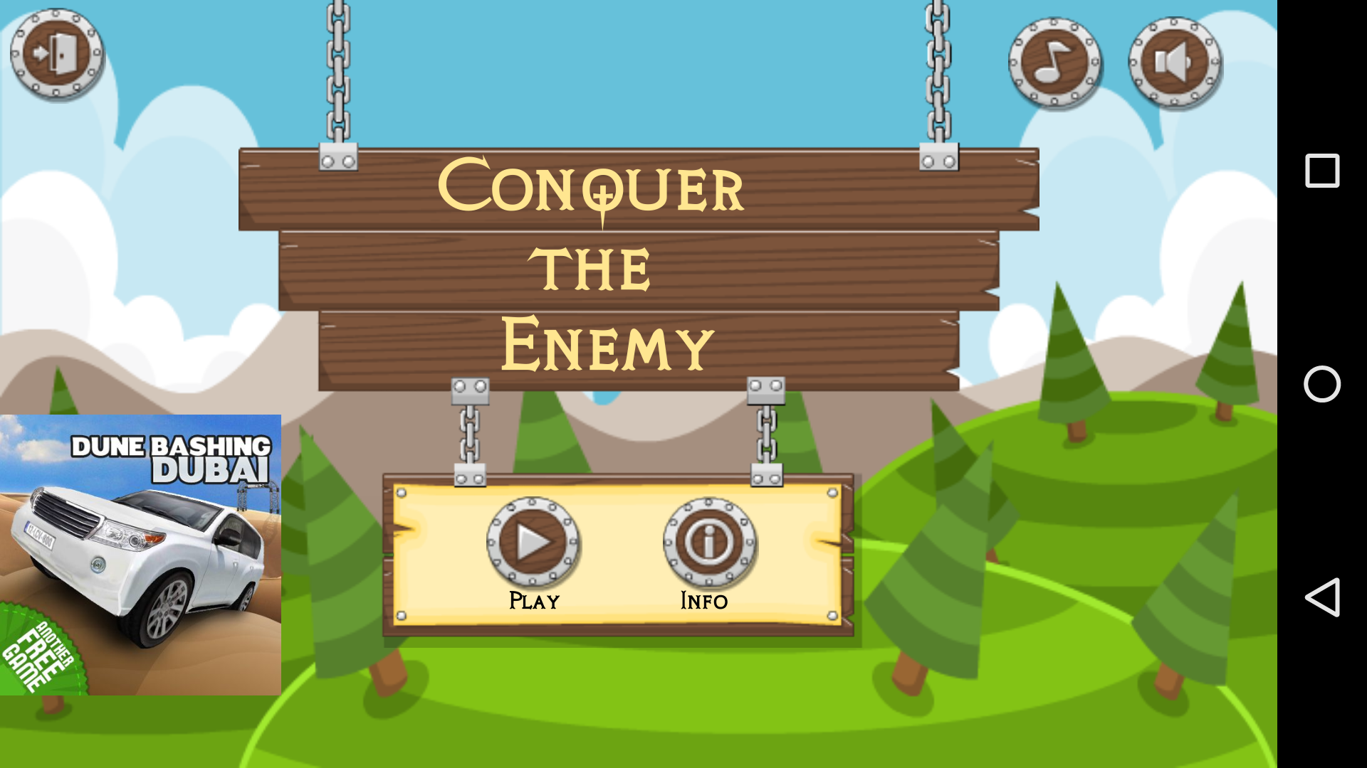 Conquer the enemy