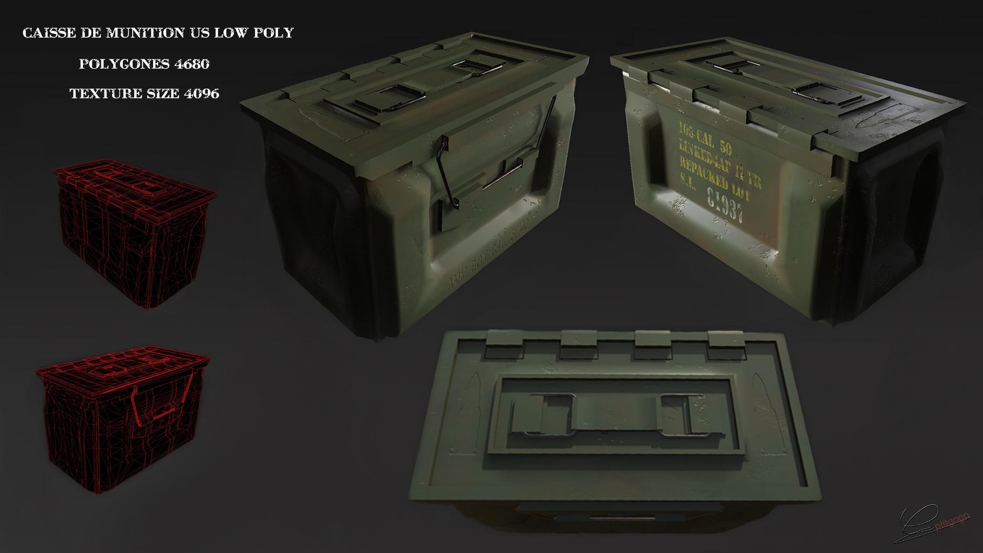 military box USA