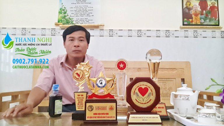 Cai thuốc lá Thanh Nghị - HCM