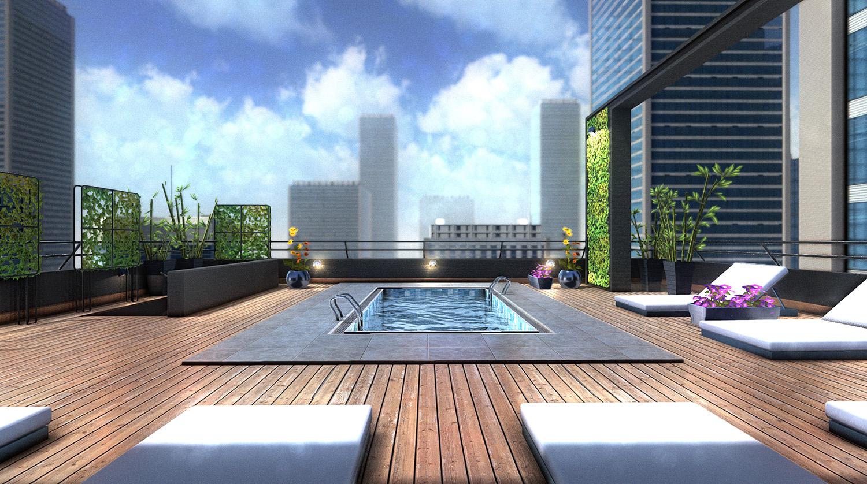 Rooftop poom