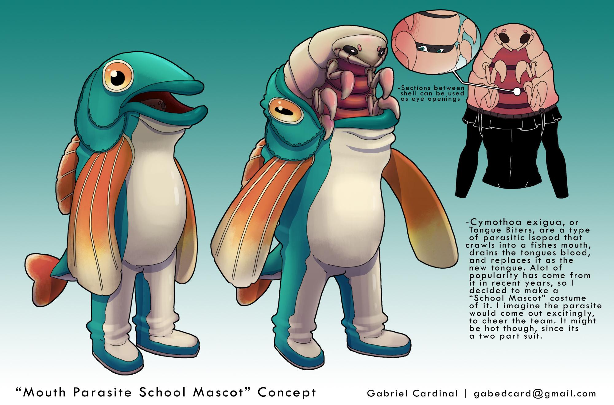 Parasite Mascot Concept
