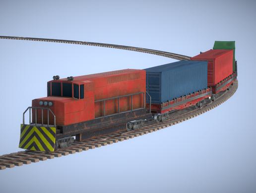Train Controller (Railroad System)