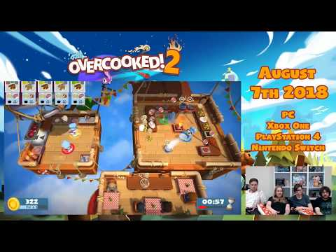 Overcooked! 2 Livestream - Chaotic Co-Op Cooking!