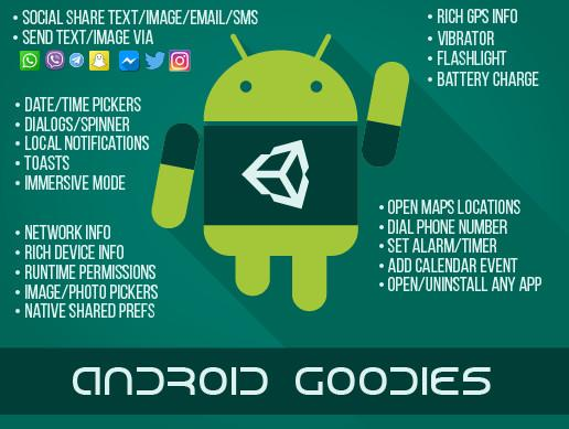 Android Native Goodies