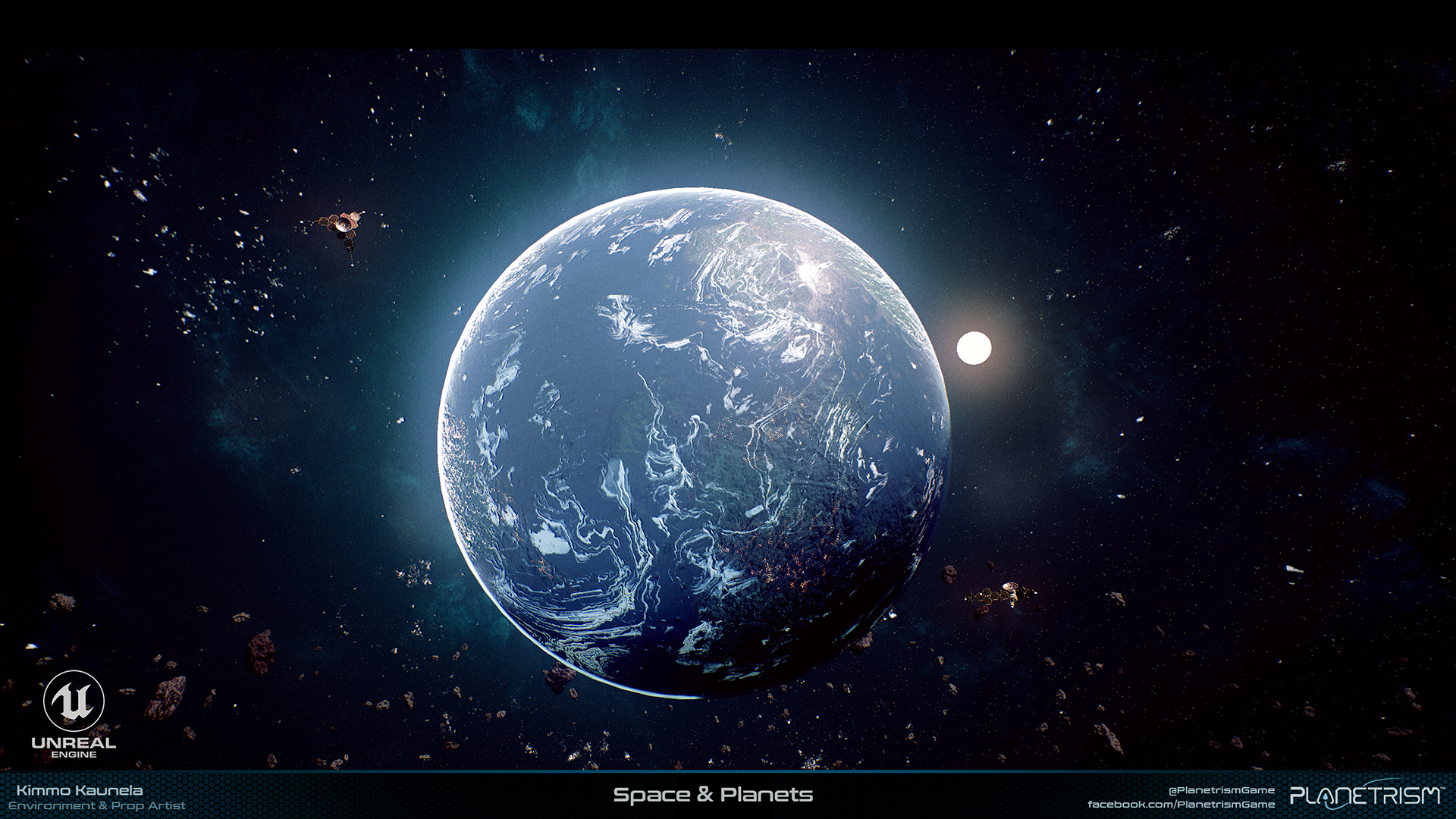 Planetrism - Space and Planets
