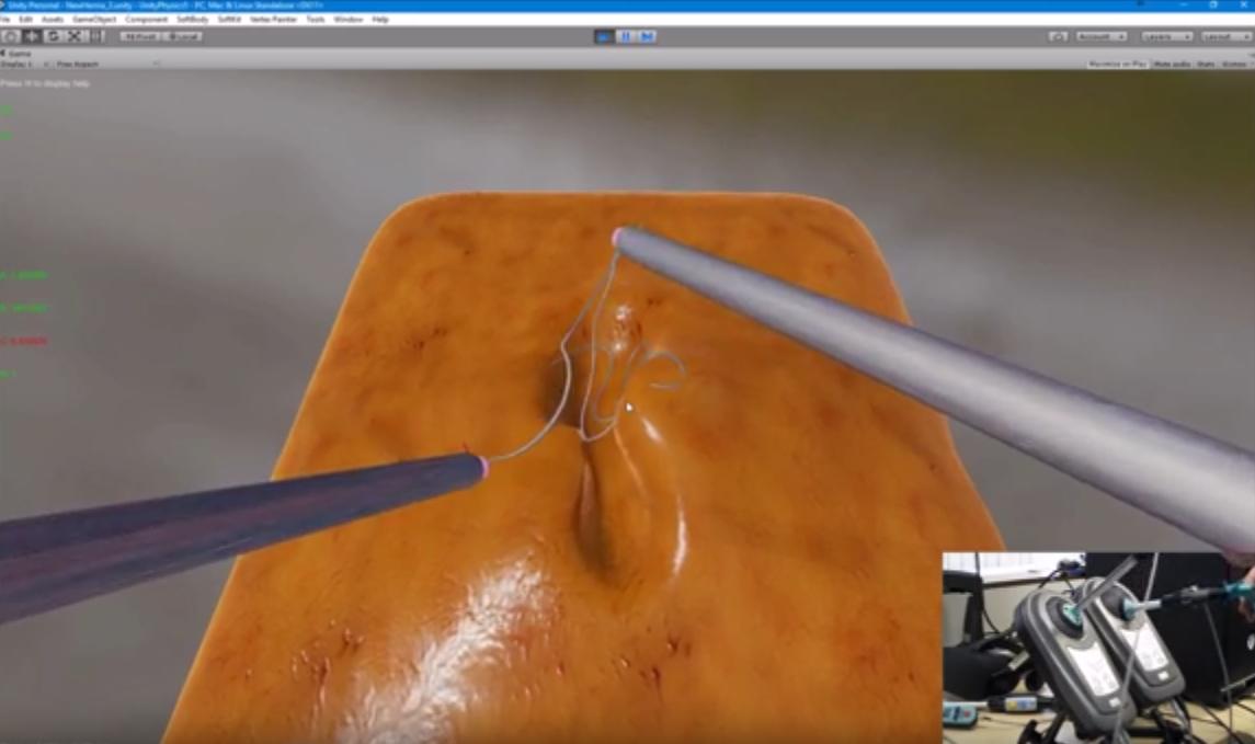 VR Suturing