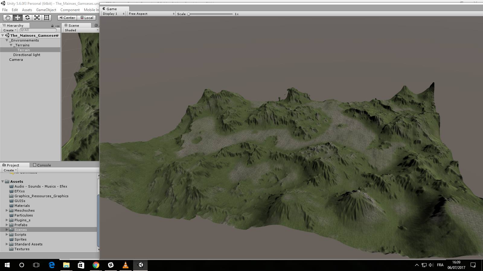 RTS Sample Project With ErosionBrush Plugin