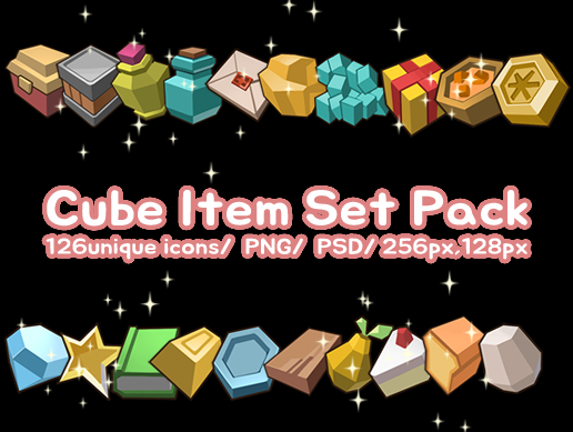 Cube Item Set Pack