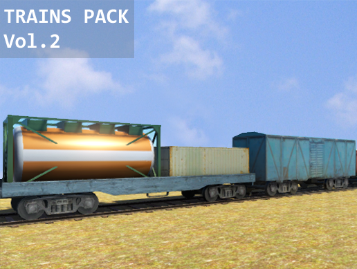 Trains Pack Vol.2